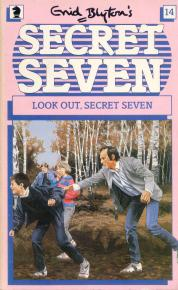 book review of look out secret seven by enid blyton