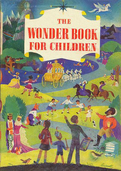 the wonder book for children by enid blyton