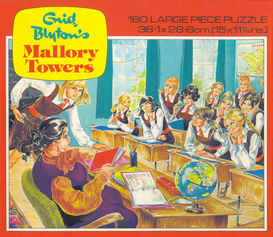 last term at mallory towers  jigsaw  by enid blyton