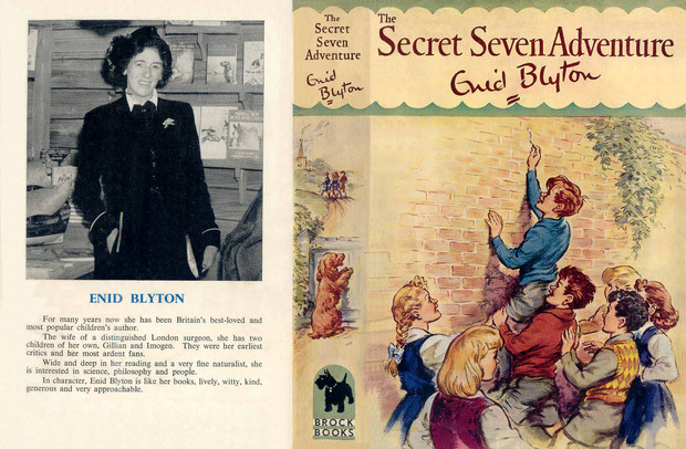 First editions of the famous five; secret seven: enid blyton first.