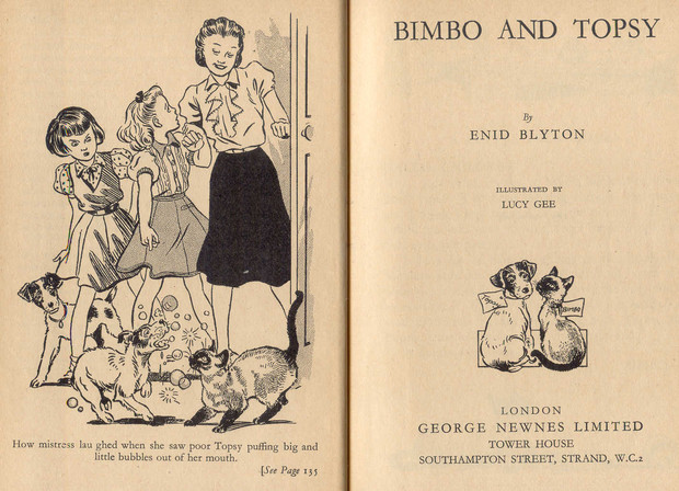 Bimbo and Topsy by Enid Blyton