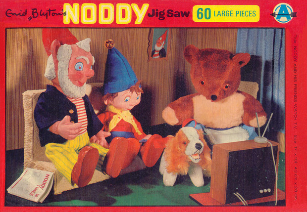 Noddy And His Friends Watch Tv By Enid Blyton
